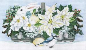 Winter White Basket Melissa Shirley Designs