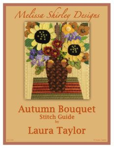 Autumn Bouquet Vase Needlepoint Class