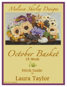 Melissa Shirley Needlepoint 18 mesh Canvas