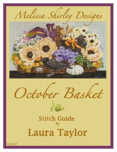 Melissa Shirley October Basket Needlepoint Canvas 13 mesh