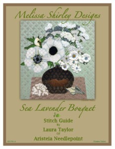 Sea Lavender Stitch Guide Cover