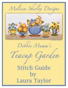 teacup garden Debbie Mumm