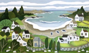 White House Cove by Melissa Shirley Designs.