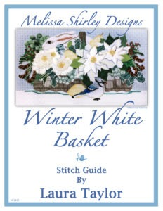 Winter White Basket Melissa Shirley Designs